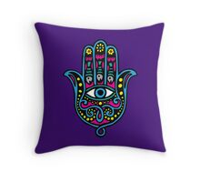 Hand of Fatima Throw Pillow