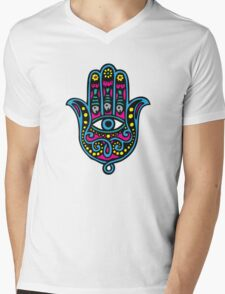 Hand of Fatima Mens V-Neck T-Shirt