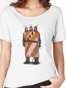 """Three """"Knightly"""" Gear Heads Women's Relaxed Fit T-Shirt"""