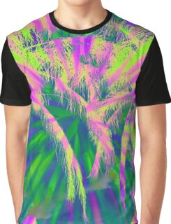 Photo of sunset & palms I took manipulated in Photoshop Graphic T-Shirt