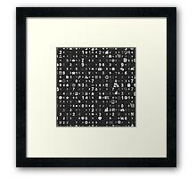 Information technologies Framed Print