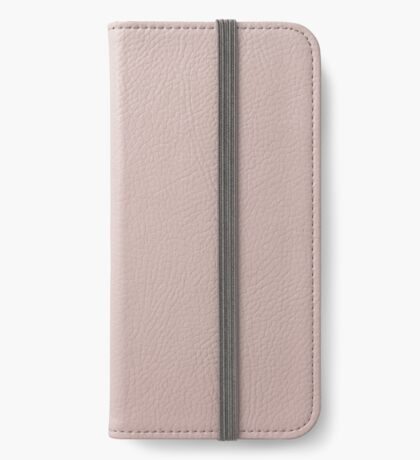 Pink leather  iPhone Wallet/Case/Skin