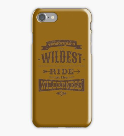 Big Thunder - Brown/Burnt Orange iPhone Case/Skin