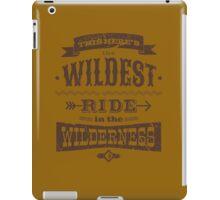 Big Thunder - Brown/Burnt Orange iPad Case/Skin