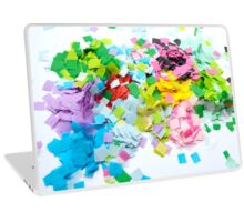 Rainbow Confetti Laptop Skin