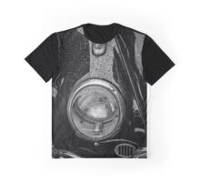 1962 VW Beetle in the Rain Graphic T-Shirt