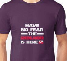 No Fear Greenlander Here Greenland Pride Unisex T-Shirt