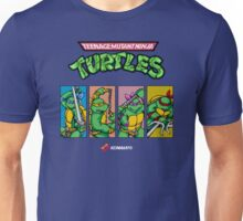 Teenage Mutant Ninja Turtles 80s Arcade Game Unisex T-Shirt