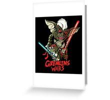 Gremlins wars Greeting Card