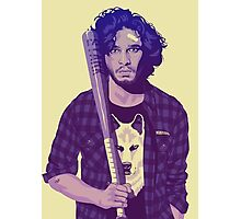 GAME OF THRONES 80/90s ERA CHARACTERS - Jon Snow Photographic Print
