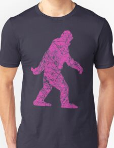 Gone Squatchin in Grunge Distressed Style T-Shirt