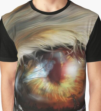 Tigers eye Graphic T-Shirt