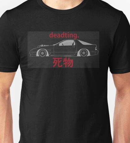 RX-7 JDM Drift Car Unisex T-Shirt