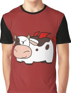 Red Devil Cow Graphic T-Shirt