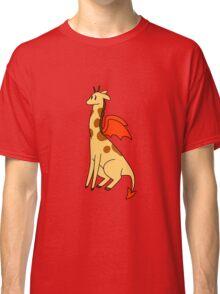 Red Devil Giraffe Classic T-Shirt