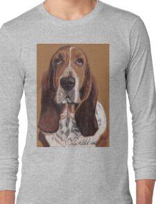 Basset Hound Vignette Long Sleeve T-Shirt