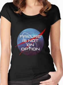 Failure is not an Option Women's Fitted Scoop T-Shirt
