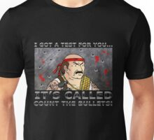 Count the Bullets Unisex T-Shirt