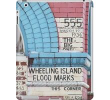 Flood Marker iPad Case/Skin