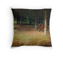 Little Horse Lost. Throw Pillow