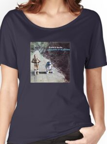 Sounds of bleeping (vinyl square version) Women's Relaxed Fit T-Shirt