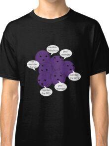 Memberberries Remember/ Black Classic T-Shirt