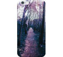 purple fire iPhone Case/Skin