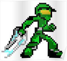 Pixel Guy Poster