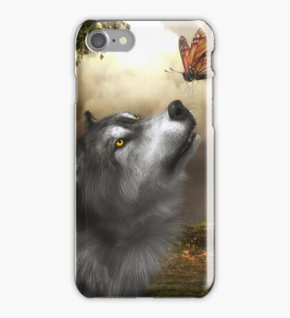 Butterfly Wolf iPhone Case/Skin