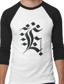 Gothic letter E Men's Baseball ¾ T-Shirt