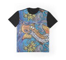 Glitter Fish Graphic T-Shirt