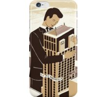 The love between a man and his building iPhone Case/Skin