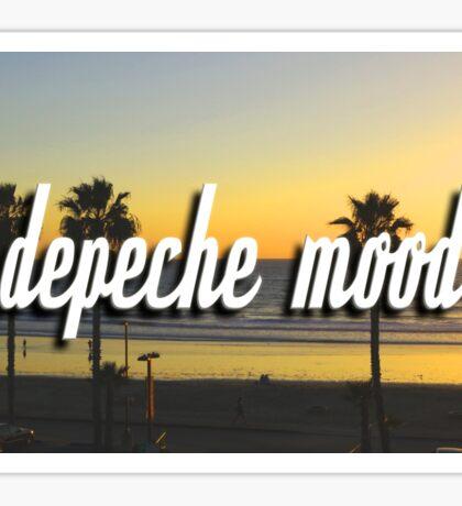 'Depeche Mood' Sticker