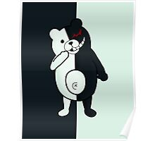 Monokuma - Dangan Ronpa W Background Poster
