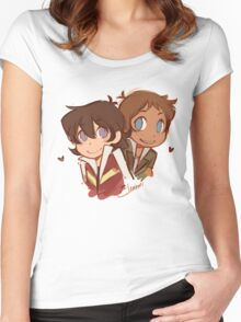Chibi Klance Women's Fitted Scoop T-Shirt