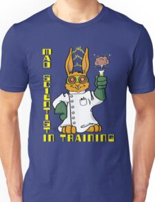 Mad Scientist In Training Bunny Unisex T-Shirt