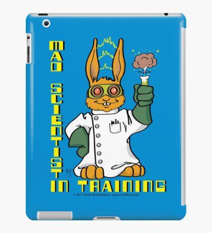 Mad Scientist In Training Bunny iPad Case/Skin
