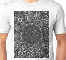 Psychedelic complex pattern sketch mandala2  Unisex T-Shirt