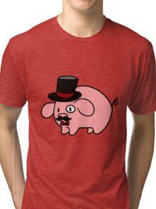 Fancy Pig Tri-blend T-Shirt