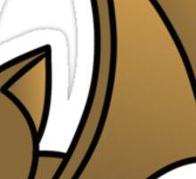 Flying Brown Bat Sticker