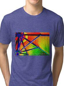 rainbow distraction  Tri-blend T-Shirt