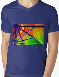 rainbow distraction  Mens V-Neck T-Shirt