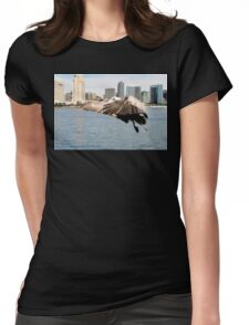Pelican Ready To Land Womens Fitted T-Shirt