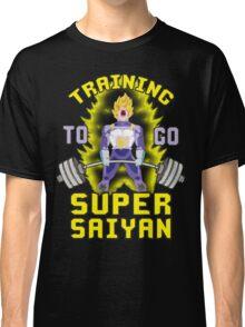 Training To Go Super Saiyan (Vegeta Deadlift) Classic T-Shirt