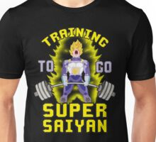 Training To Go Super Saiyan (Vegeta Deadlift) Unisex T-Shirt