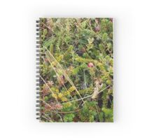 Berries by the sea shore Spiral Notebook