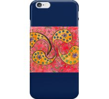 Pink Playful Paisley iPhone Case/Skin
