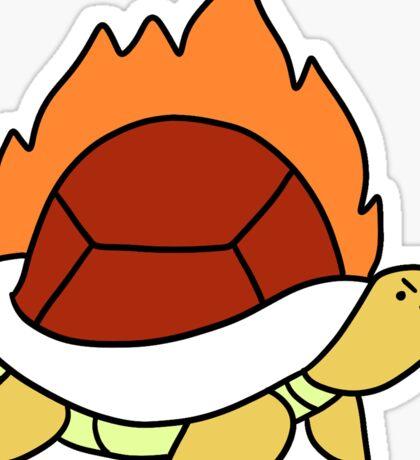 Fire Turtle Sticker