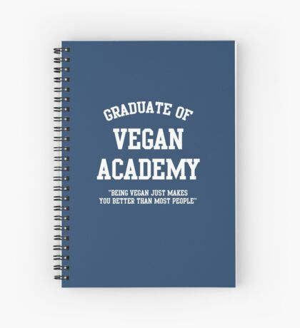 Vegan Academy Spiral Notebook