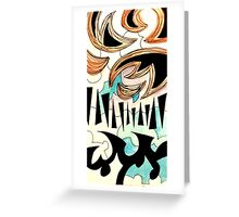 Puzzle Shapes Greeting Card